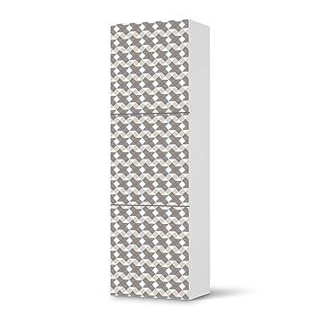 Klebefolie Sticker Aufkleber Für IKEA Besta Regal Hochkant 3 Türen | Möbel  überkleben Verschönerung Möbeldeko |