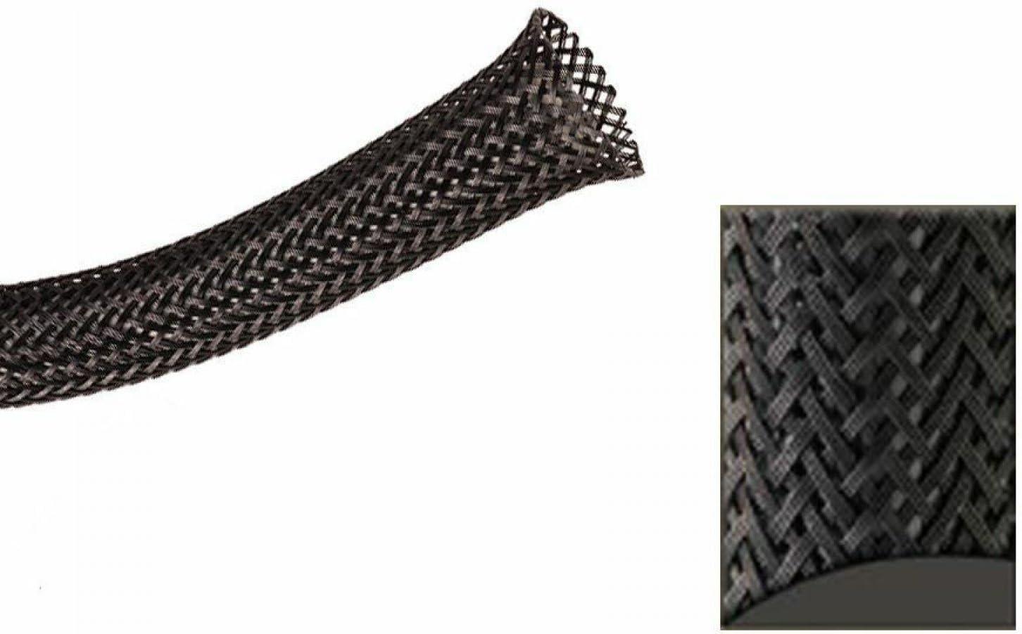 10 Feet Keep It Clean 14196 Wire Loom 3//8 Black Ultra Wrap Wire Loom