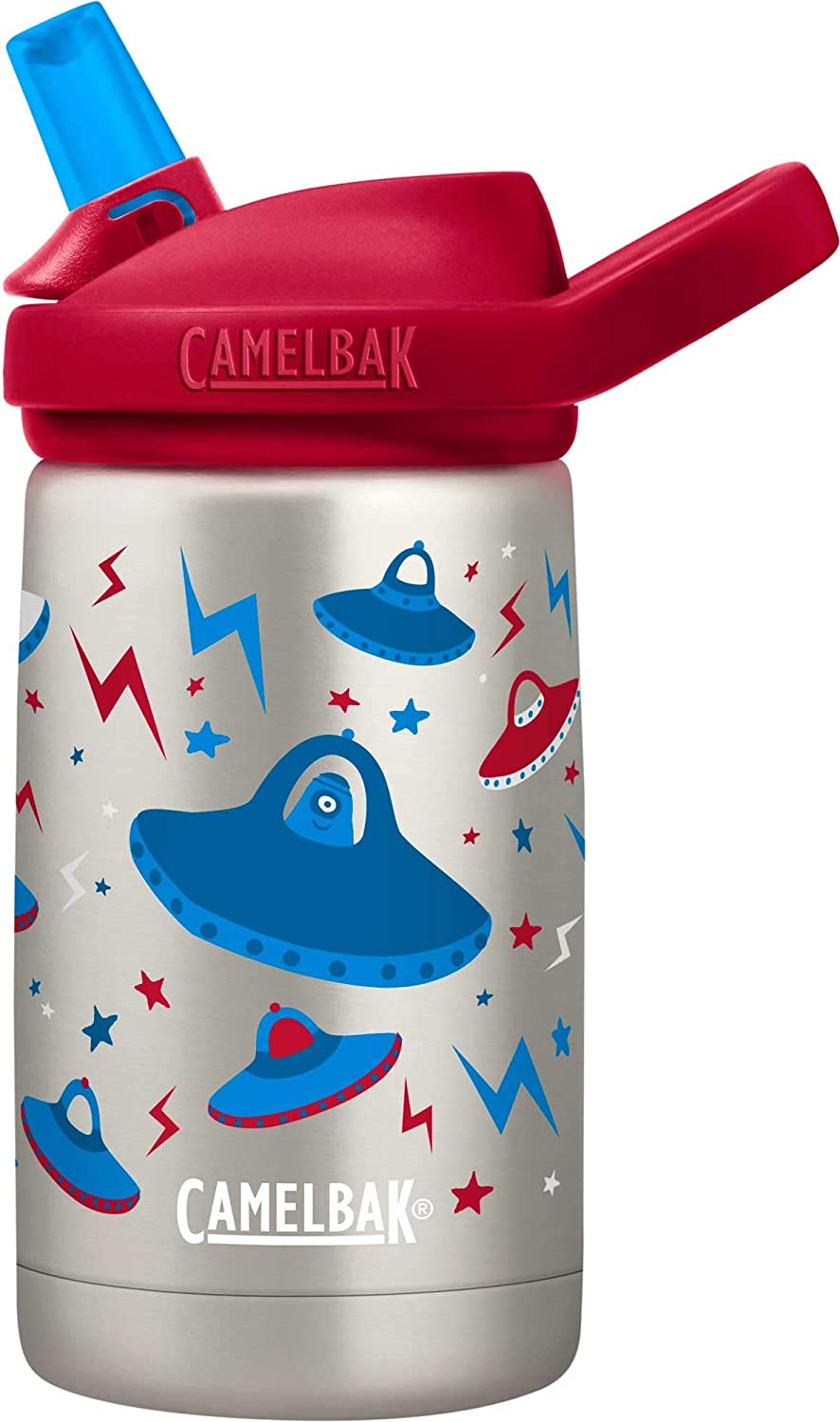 CamelBak Eddy+ Kids 12 oz Bottle, Vacuum Insulated Stainless Steel