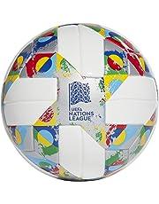 adidas UEFA Mini, Pallone da Calcio Uomo, White/Silver Met./Multicolor, 1