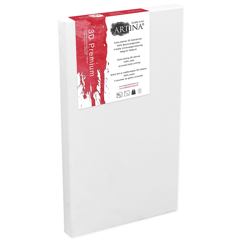 Artina 5er 5er 5er Set - 60x80 cm Leinwand aus 100% Baumwolle auf stabilem Keilrahmen in 3D Premium Qualität - 380 g m² B0130R69TU | Sale Online  917d7e