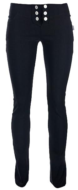 Nero Pantaloni 11 Ragazza Reverse AnniAmazon it oedxBWrC