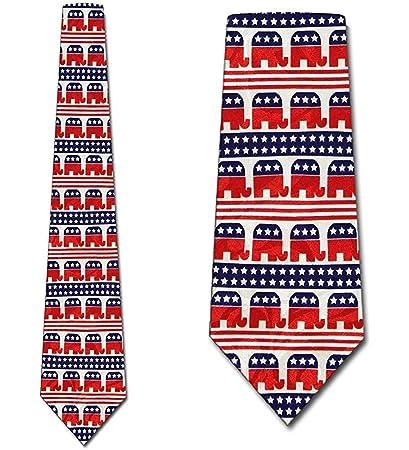 Corbatas republicanas Corbatas de rayas republicanas Corbata ...