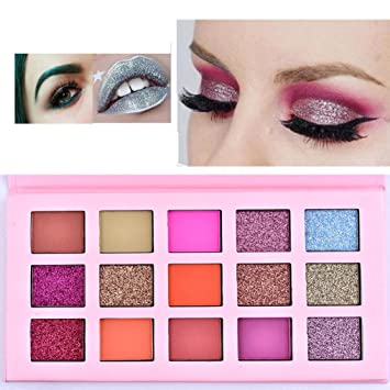 88879e533be2 Eyeshadow Palette ODGear Shimmer Glitter Matte 15 colors Eye Shadow  Cosmetic Makeup