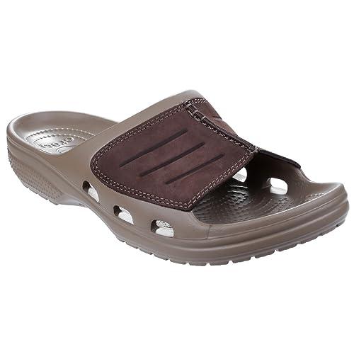 aec5b6a725ed Crocs Men s Yukon Mesa Slide M Low-Top Slippers multicolour Size  7 UK   Amazon.co.uk  Shoes   Bags