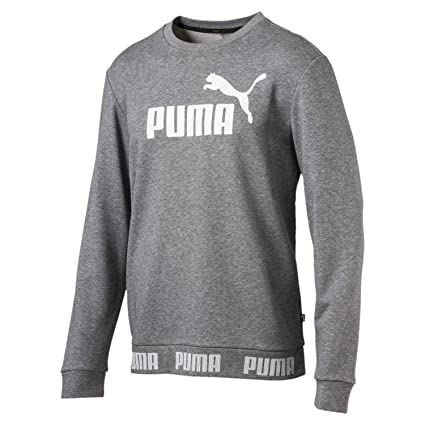 Puma Amplified Crew TR Sudadera, Hombre, Gris, XXL