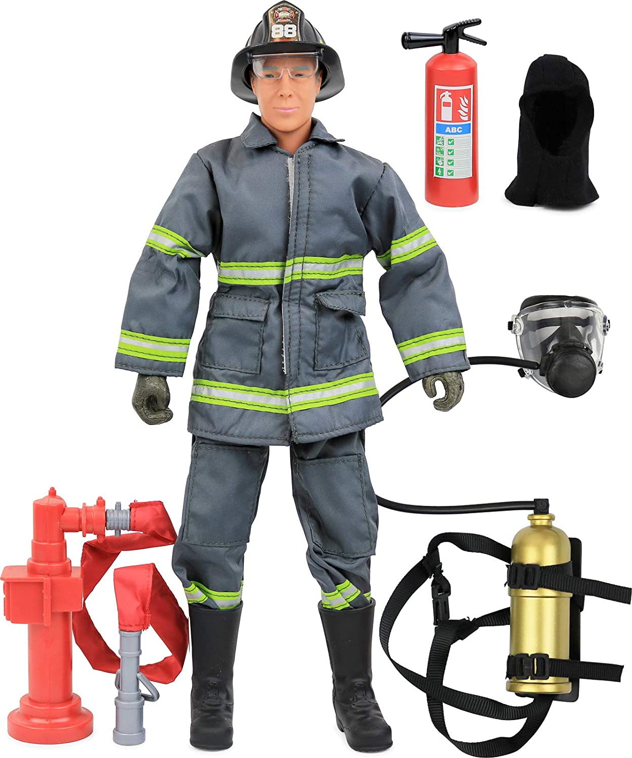 Urban Firefighter Oxygen Tank 1//6th Scale Action Figure Toys