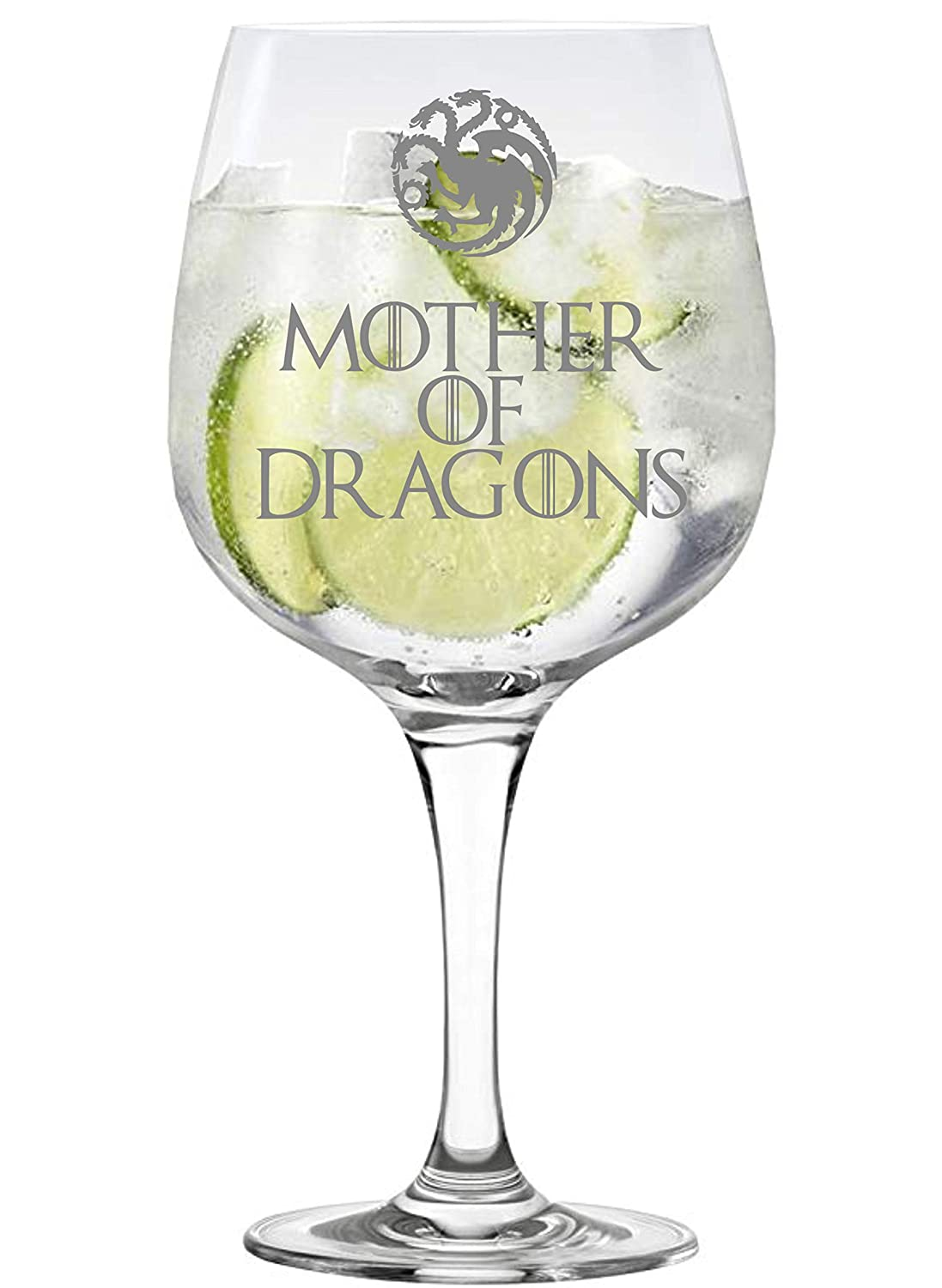 Lapal Dimension Mother of Dragons Game of Thrones Inspired Copa Gin Glass