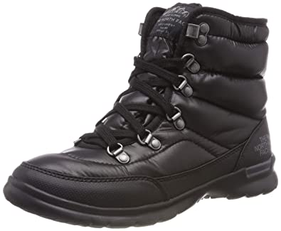 f420caa2 The North Face Women's Thermoball Lace II Shiny TNF Black/Iron Gate Grey  (Past