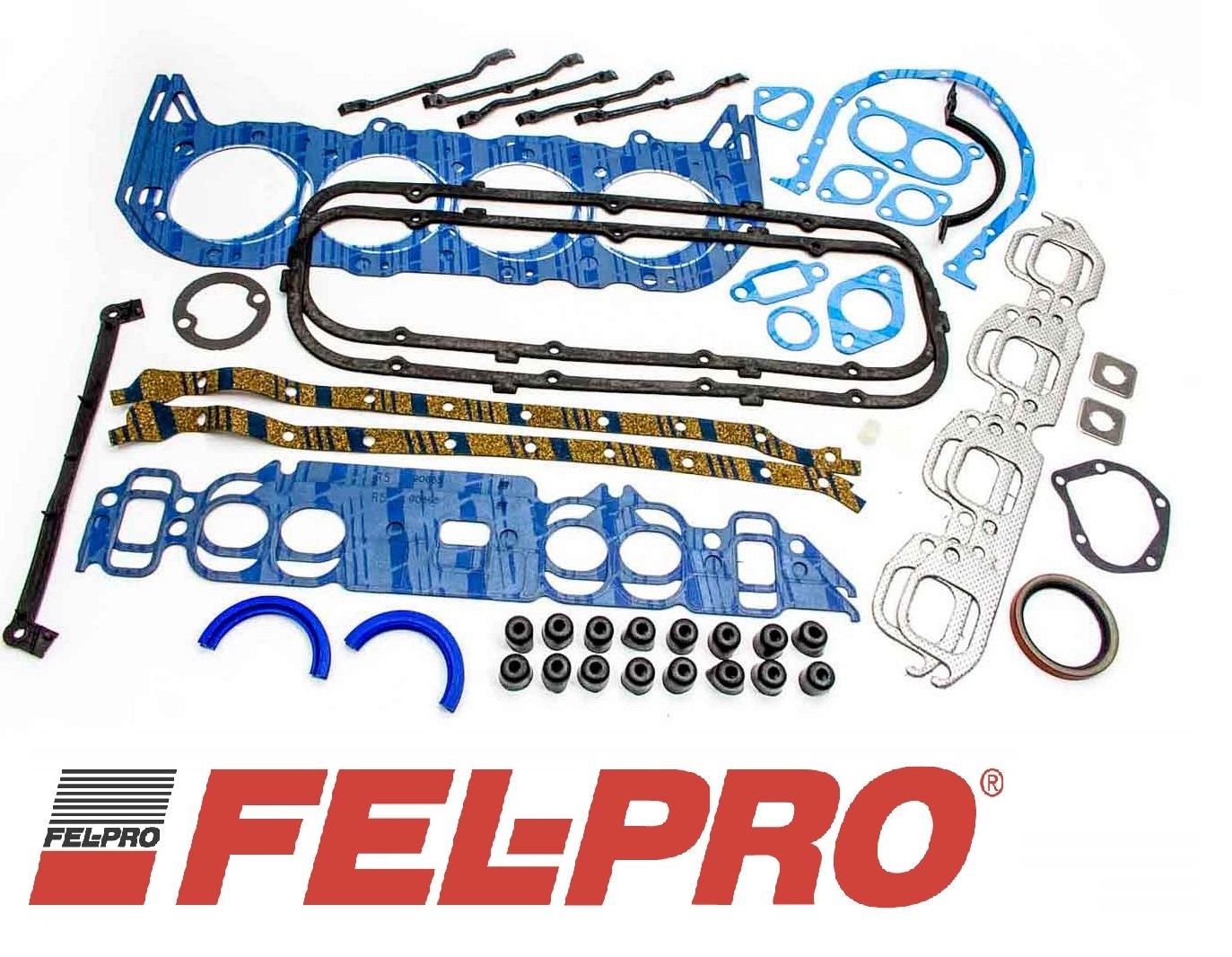 Fel Pro Engine Overhaul Gasket Set 1980-1985 Chevy bb TRUCK 7.4L 454 & 1974-1985 427 (BBC 427 454)