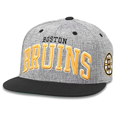 84498306abf Amazon.com  American Needle Stanton NHL Team Flat Brim Snapback Hat ...