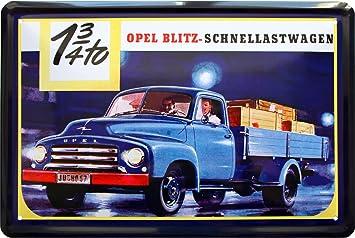 Blechschild Oldtimer Auto LKW Truck