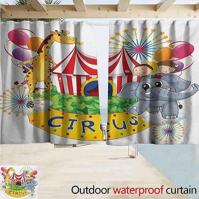 Zmcongz Circus - Cortinas para Interiores y Exteriores, diseño de ...