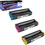 Speedy Inks Compatible Toner Cartridge Replacement for Ricoh SP C250A (1 Cyan, 1 Magenta, 1 Yellow, 3-Pack)