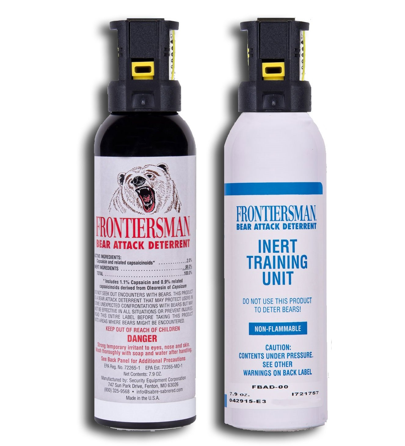 Bear Protection With Frontiersman Bear Spray: Frontiersman Bear Spray