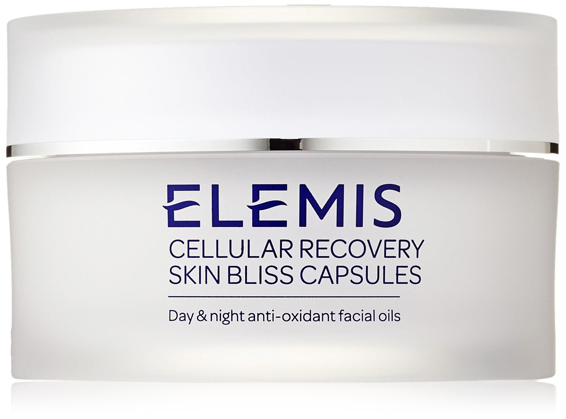 ELEMIS Cellular Recovery Skin Bliss Capsules, Day and Night Anti-Oxidant Facial Oils, 60 Capsules