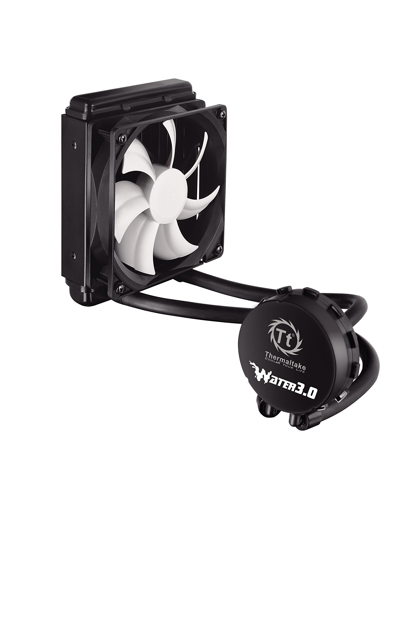 Thermaltake Water 3.0 Performer C 120mm AIO Liquid Cooling System CPU Cooler CLW0222-B