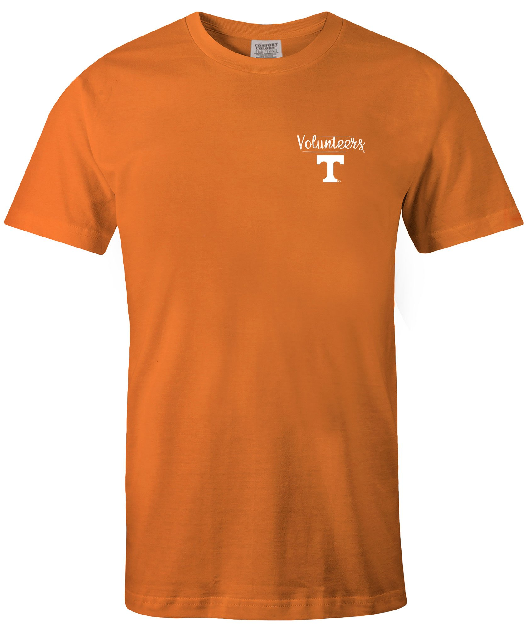 Tennessee Volunteers Sketcok Comfort Color Short Sleeve T Shirt X Tennesseeorange