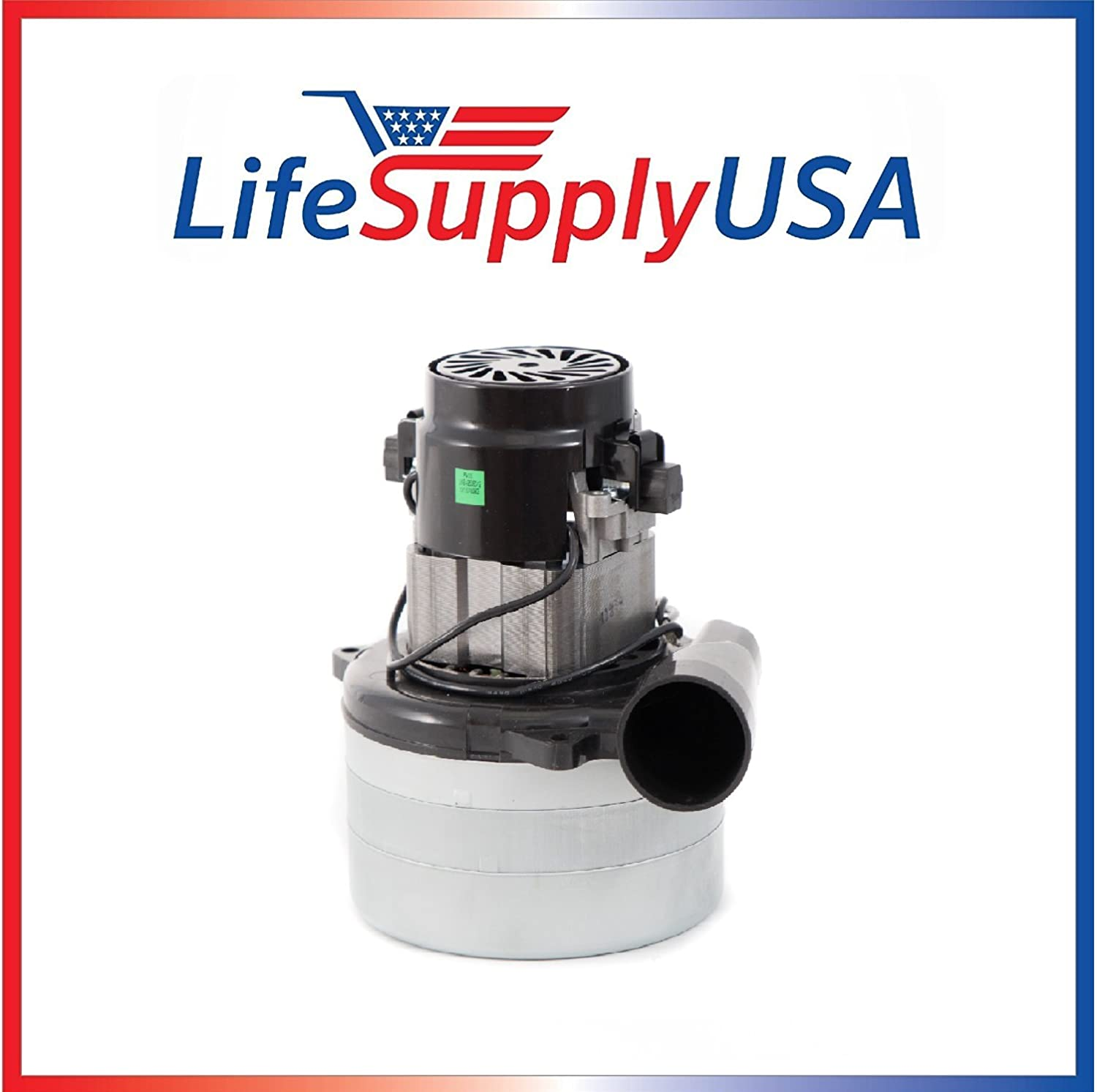 Central Vac Vacuum Motor 3 STAGE with Wires Will Fit Most Brands 5.7 120 Volt 1400 Watt by LifeSupplyUSA