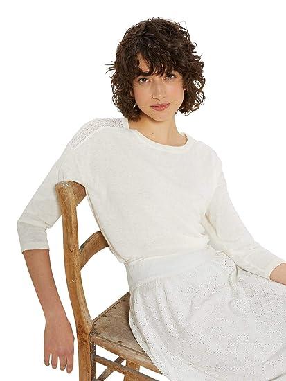 belle couleur Livraison gratuite dans le monde entier Design moderne Cyrillus Pull Femme Dentelle: Amazon.fr: Vêtements et ...