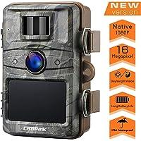 【2020 Upgrade】 Campark Trail Camera 16MP 1080P Game&Hunting Camera No Glow Night Vision 44 Pcs Invisible IR LEDs…