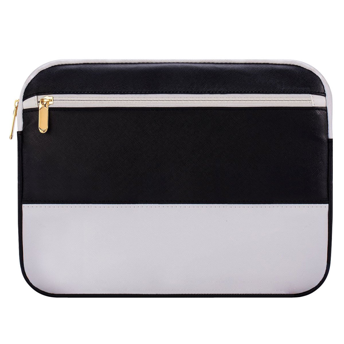 13 Inch Laptop Sleeve 13.3 Inch for Macbook Air/Pro/Retina Display 12.9 Inch iPad Case Bag 13'' Laptop case compatible with Apple/Samsung/HP/Asus/Acer/Dell etc Assorted color Black&White