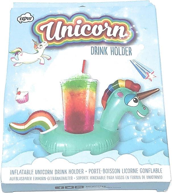 Amazon.com: NPW Unicorn Drink Holder Pool Float: Home & Kitchen