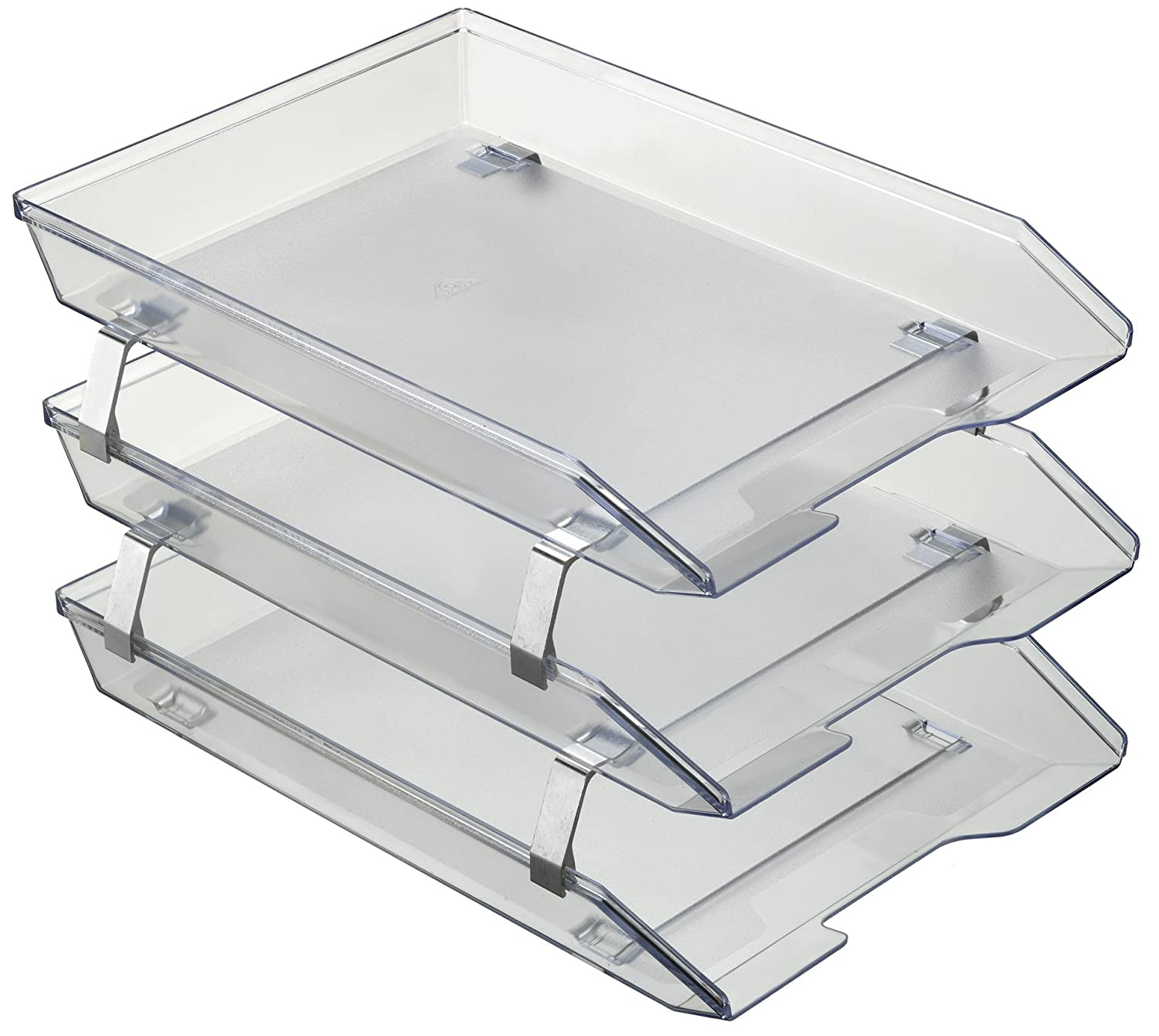 Acrimet Facility 3 Tiers Triple Letter Tray Frontal A4 (Crystal Color) 265.3