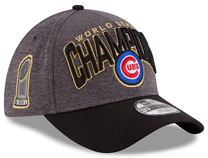 Amazon.com  Chicago Cubs 2016 World Series Champions Locker Room Hat 13134   Sports   Outdoors 1ec85677d5d