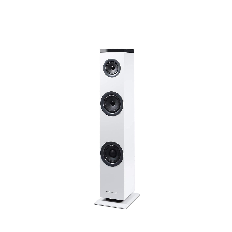 Energy Sistem Tower 1 - Sistema de Altavoces en Torre (Bluetooth 4.1, 30 W, RCA, 3.5 mm Audio-in) Blanco