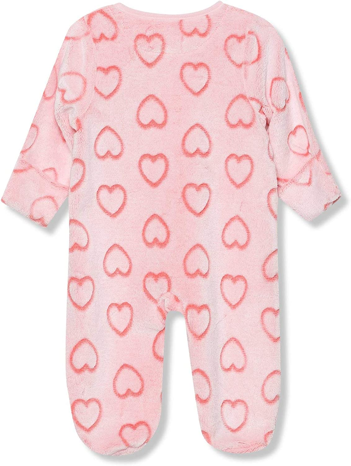 Tinybaby-18Mths M/&Co Floral Stripe Sleepsuits Two Pack