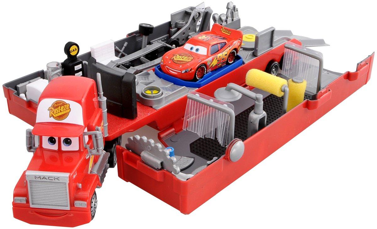 Amazon.com: Disney Cars - Mack Trailer House (M8116): Toys & Games