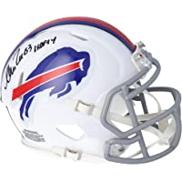 "$89 » Andre Reed Buffalo Bills Autographed Riddell Speed Mini Helmet with""HOF 2014"" Inscription - Autographed NFL Mini Helmets"