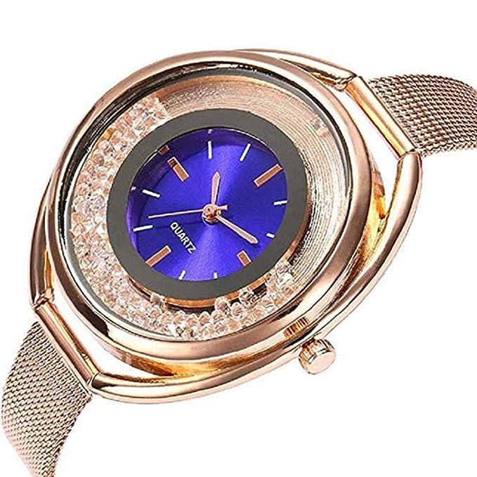 Amazon.com: TOPOB - Reloj de cuarzo para mujer con esfera de ...