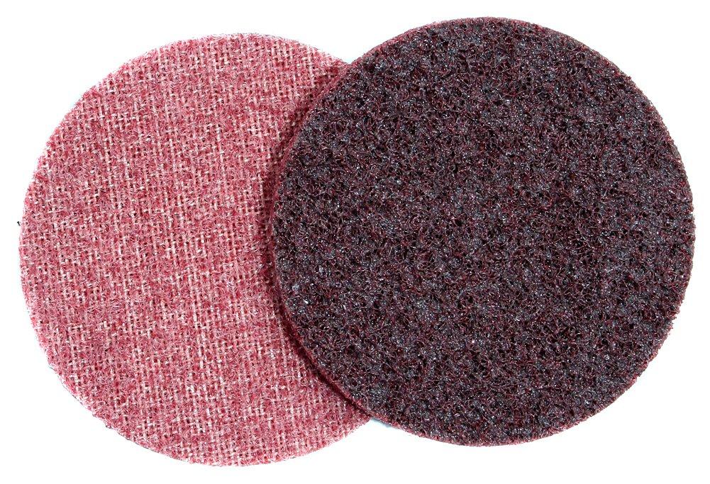 A&H Abrasives 125639, 10-pack, Sanding Discs, Aluminum Oxide, Scrim, Surface Conditioning, 4'' H&L Medium Surface Prep Sander Disc