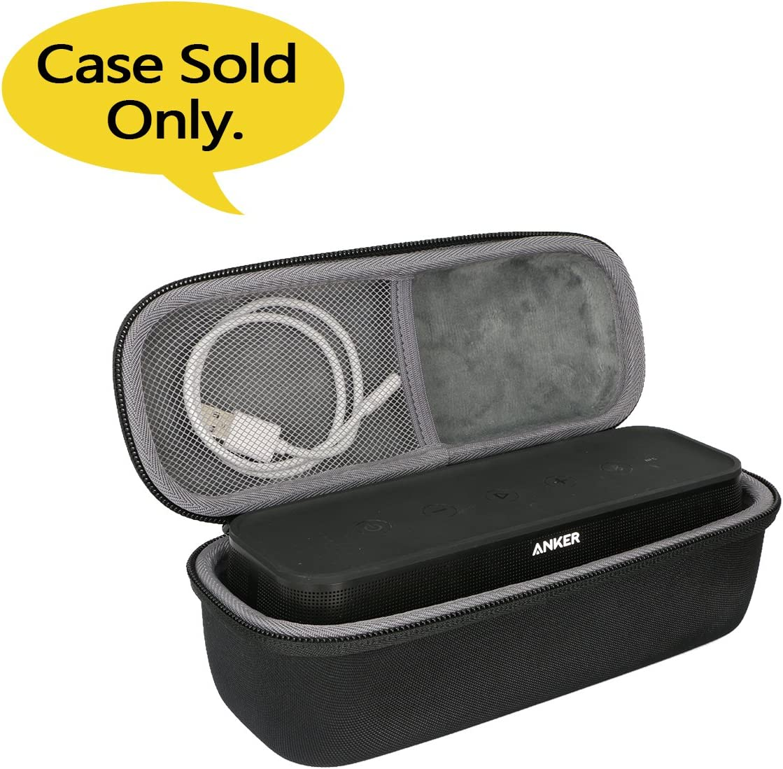 Size 1 co2crea Hard Travel Case for Anker SoundCore Pro 25W Bluetooth Speaker