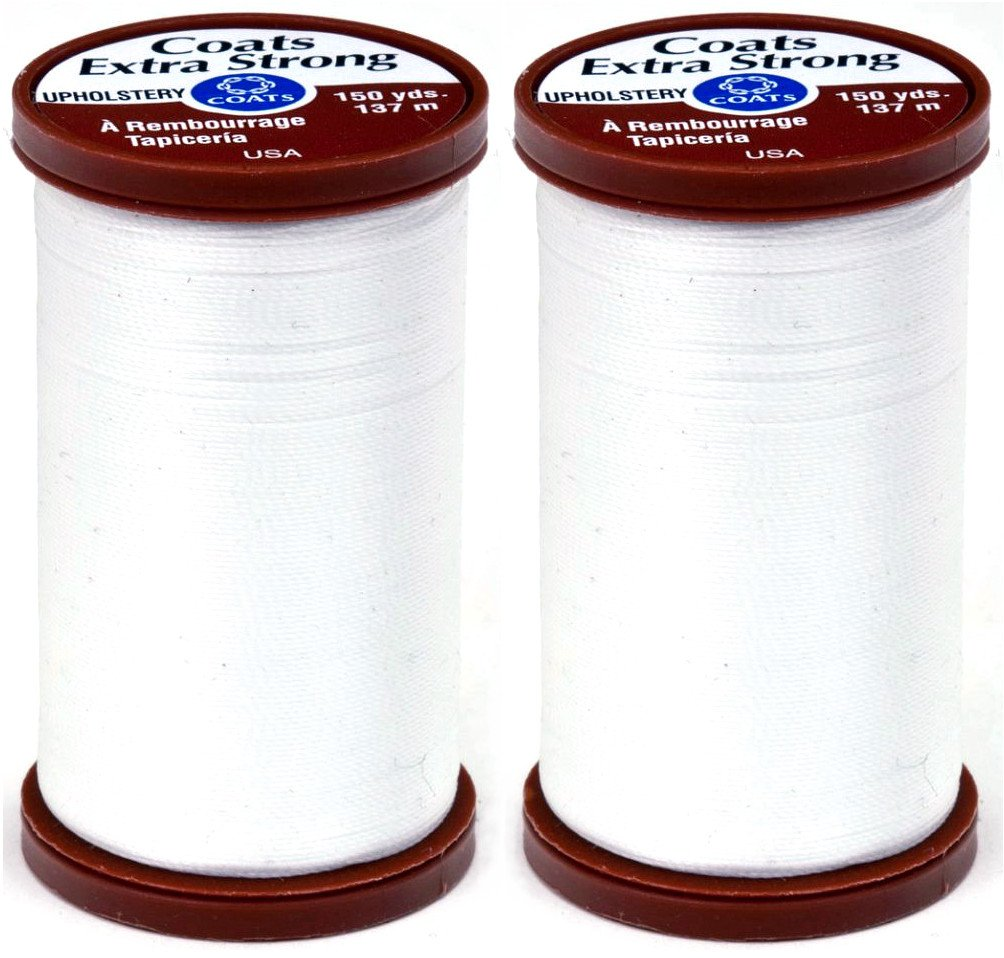 COATS & CLARK Extra Strong Upholstery Thread, 150-Yard, Black COATS&CLARK S964-0900