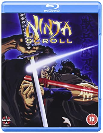 Ninja Scroll Blu-ray [Reino Unido] [Blu-ray]: Amazon.es ...