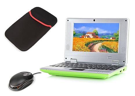 Latest Mini Laptop Notebook Netbook Ordenador Portátil de regalo de Navidad para niños HDMI écr.