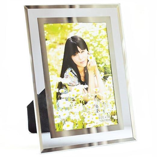23 opinioni per Giftgarden 10 x 15 cm Cornici Foto in Vetro Casa Decor Cornice Trasparente