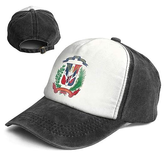 Amazon.com  QZDLq Fashion Vintage Hat Coat of Arms Dominican ... ea0077ce349