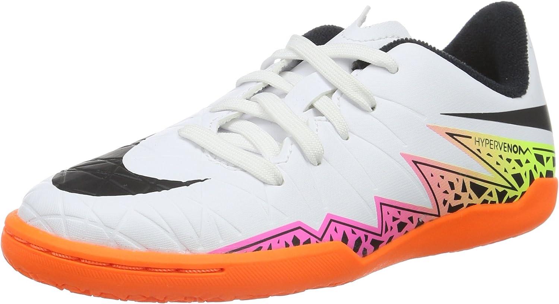 probabilidad medallista Premedicación  Amazon.com | Nike Youth Hypervenom Phelon II Indoor Shoes | Soccer