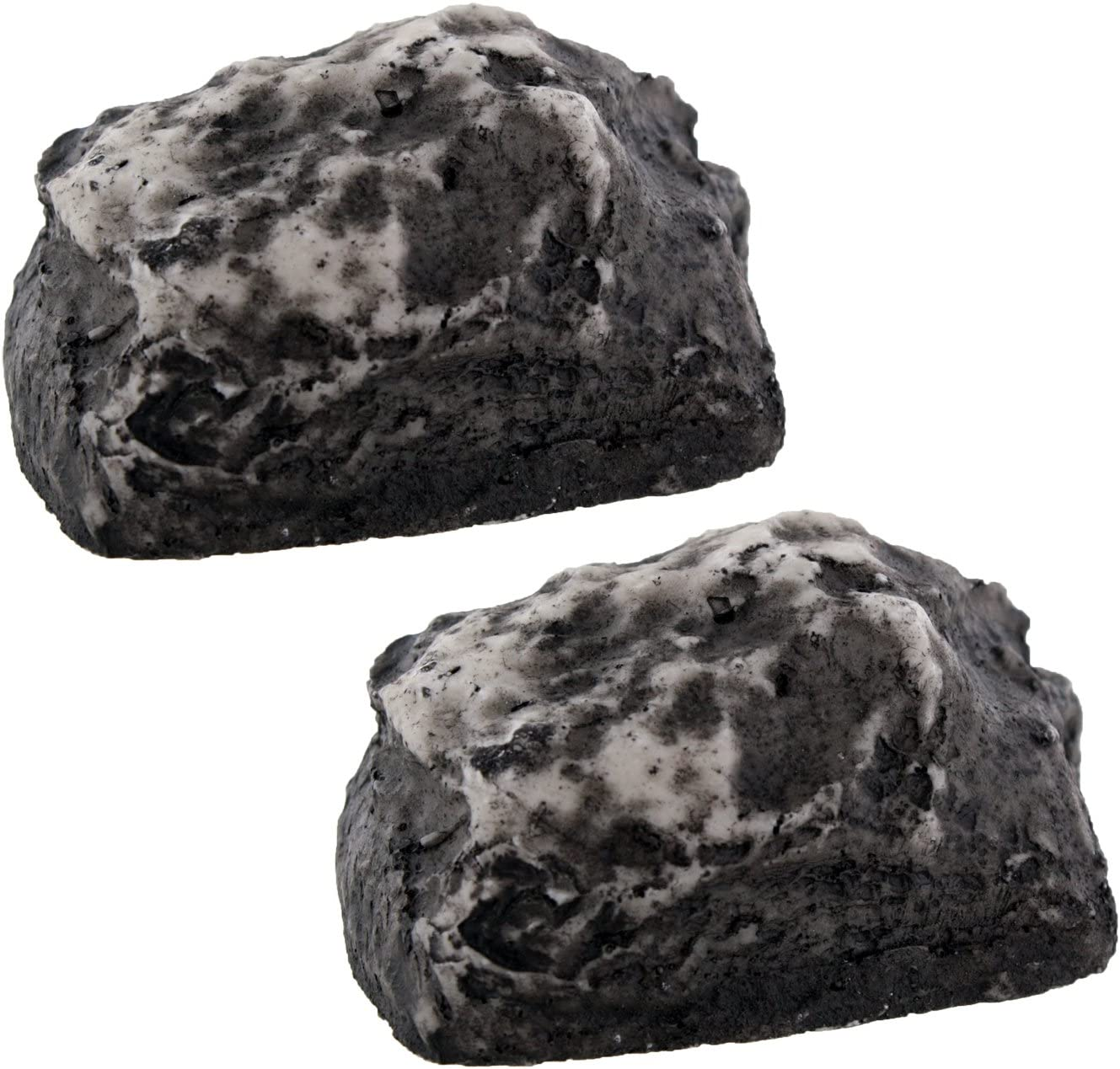 Hide-a-Key Fake Rock - Looks & Feels Like Real Rock, Set of 2: Office Products