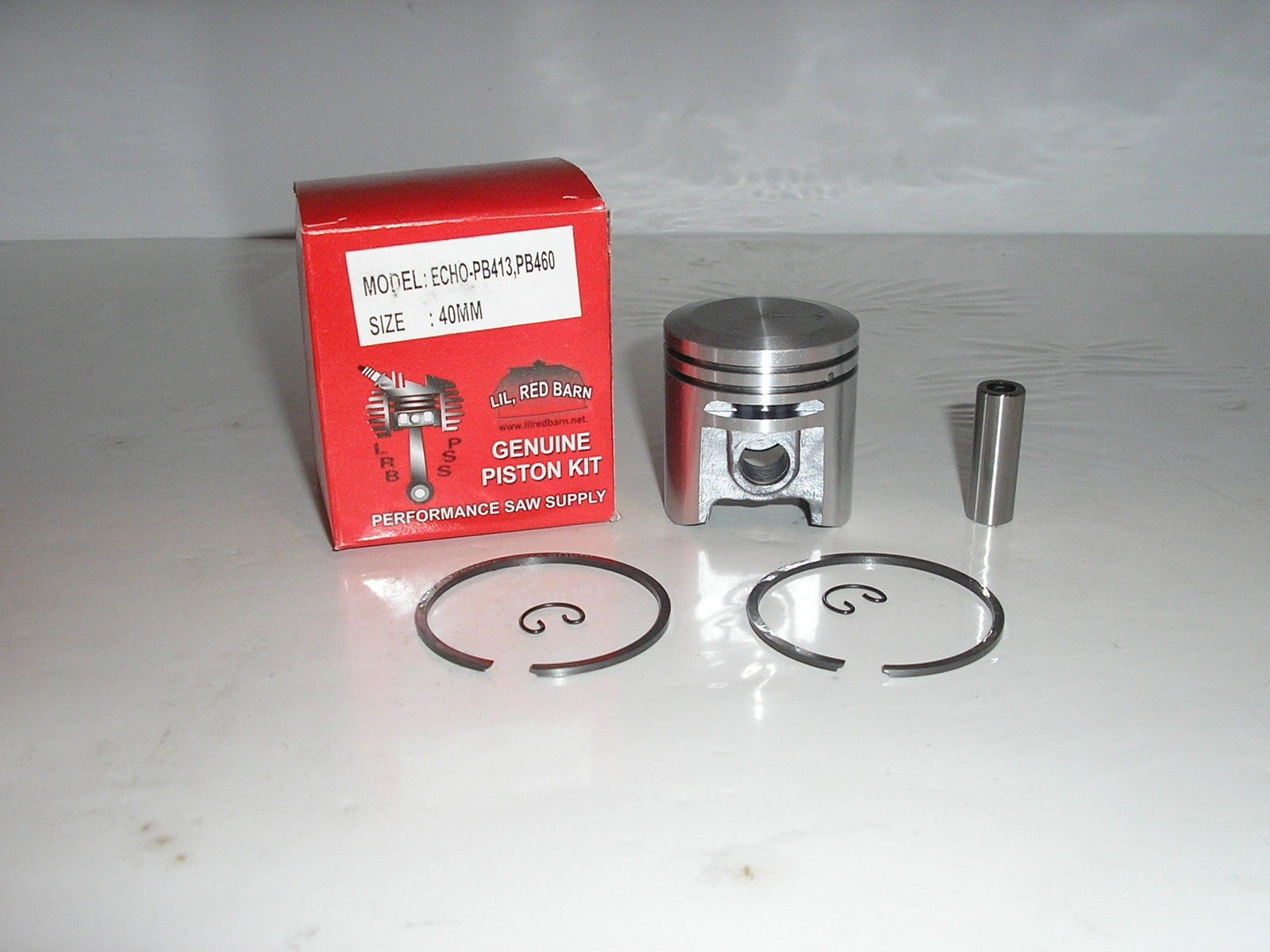 Echo Pb413, Pb413h, Pb413t, Pb460,Piston Kit 40mm, Replaces Echo Part # P021002540