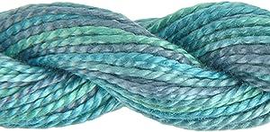 DMC 415 5-4030 Color Variations Pearl Cotton Thread, Size 5, 27-Yard, Monet's Garden