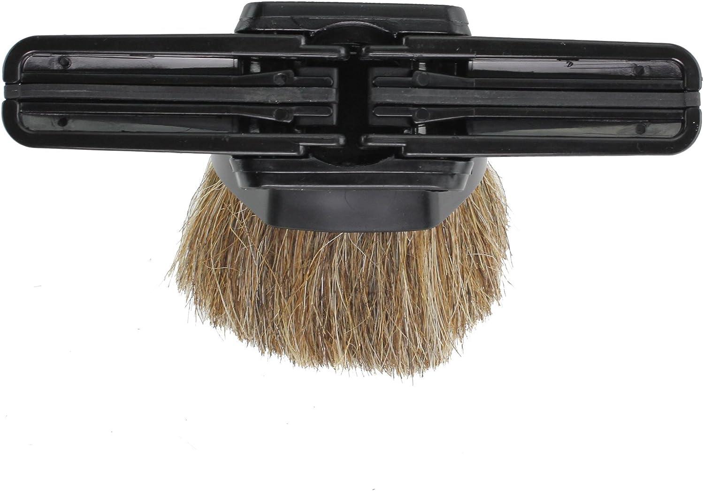 32/mm Spares2go combinaci/ón cepillo de pelo caballo /& tapicer/ía herramienta para Parkside aspiradoras