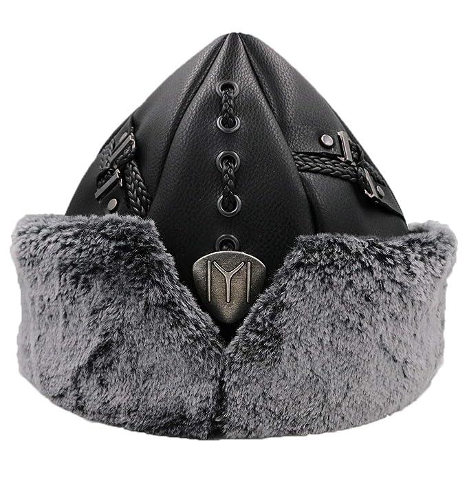Yasir Turkish Ottoman Bork Hat Ertugrul Dirilis Fur Leather