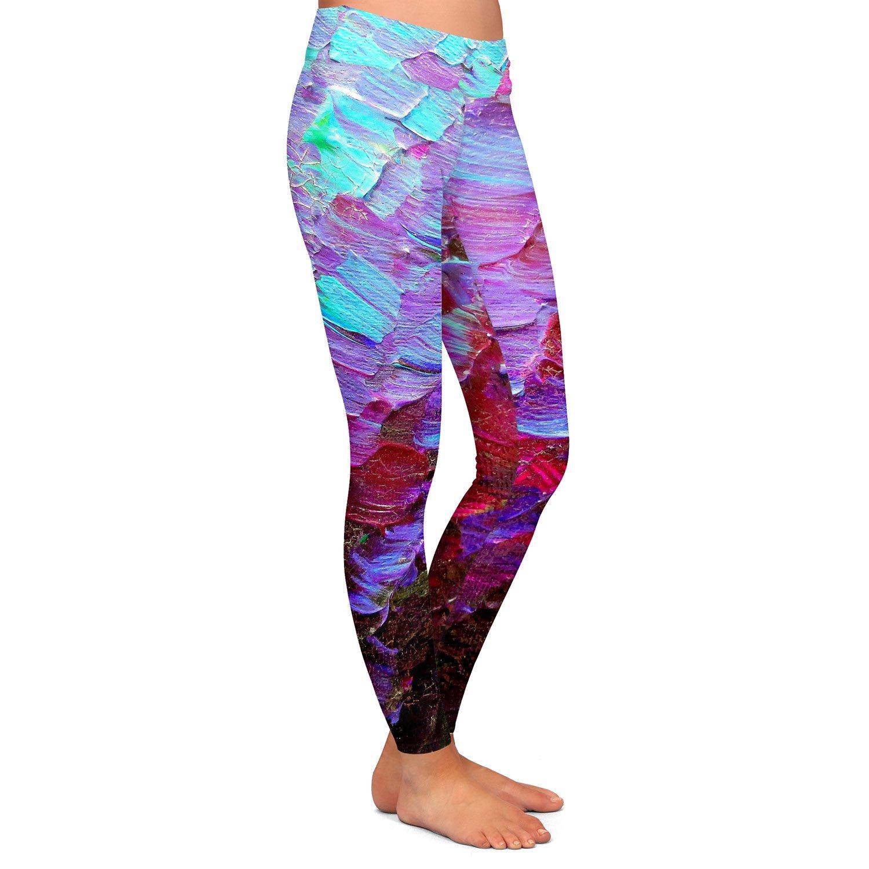 Fish Scales Athletic Yoga Leggings from DiaNoche Designs by Julia Di Sano