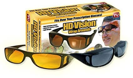 8b806ba17d Velkro New Day   Night Hd Vision Goggles Anti-Glare Polarized Sunglasses Men  Women