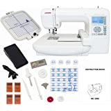 Singer futura ce 250 computerized sewing and for Janome memory craft 200e embroidery machine reviews